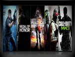 residentevil,MW3,BF3,Conviction