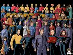 crews from star trek universe