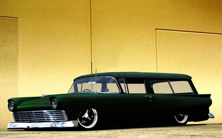 Ford Ranch Wagon - antique, hotrod, rod, wagon, classic, ford, vintage, custom, hot, ranch, car, street