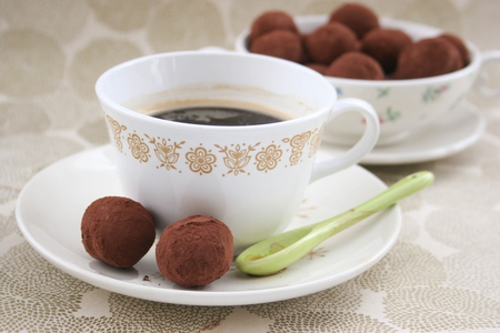 sweets for caramelie - delicious, sweets, truffles, coffee