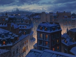 Roofs Of Paris - Eugeny Lushpin