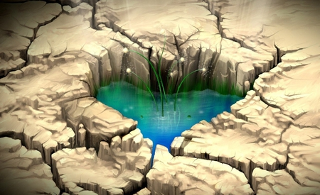 A broken heart can be healed - broken, heal, heart, wall, digital, water, wallpaper, healed, image, soil, pic, love, picture