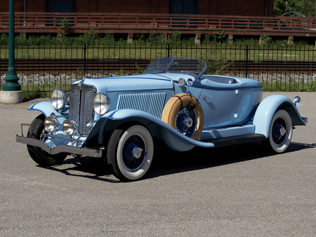 Auburn Eight Boattail Speedster - 8, speedster, elegant, luxury, auburn, antique, boattail, classic, convertible, vintage, eight, car