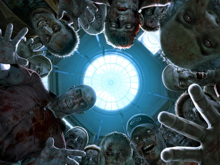 Dead Rising Zombies - dead, cool, rising, zombies