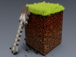 Minecraft Block of Dirt