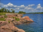 Pink Granite French River