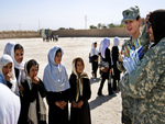 Education in Afghanistan with the US army