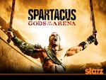 Spartacus God of the arena