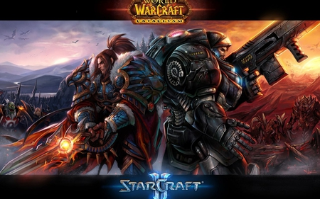 World Of War Craft & Star Craft II - mame, meyu, ozi, mufe, alex