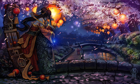 AbandonBane's Lunar Reverly Winning Sona Art - geisha, lunar, sona, league of legends, art reverly winner