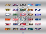 NHL Teams Logos Wallpaper - 2012