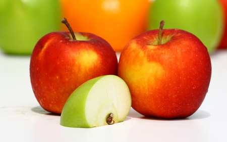 Apples - apple, food, fruit, nature, eat