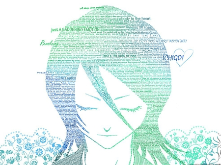 Decode - flowers, body, ichigo, bleach, blue, friends, minds, worried, miss, anime, man, organzation, white, love, team, black, rukia, hearts, soul socity, decode