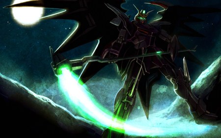 The God of Death has arrived - Gundam Wing & Anime Background Wallpapers on Desktop ...