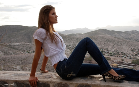 heel with jeans - Models Female & People Background Wallpapers on ...